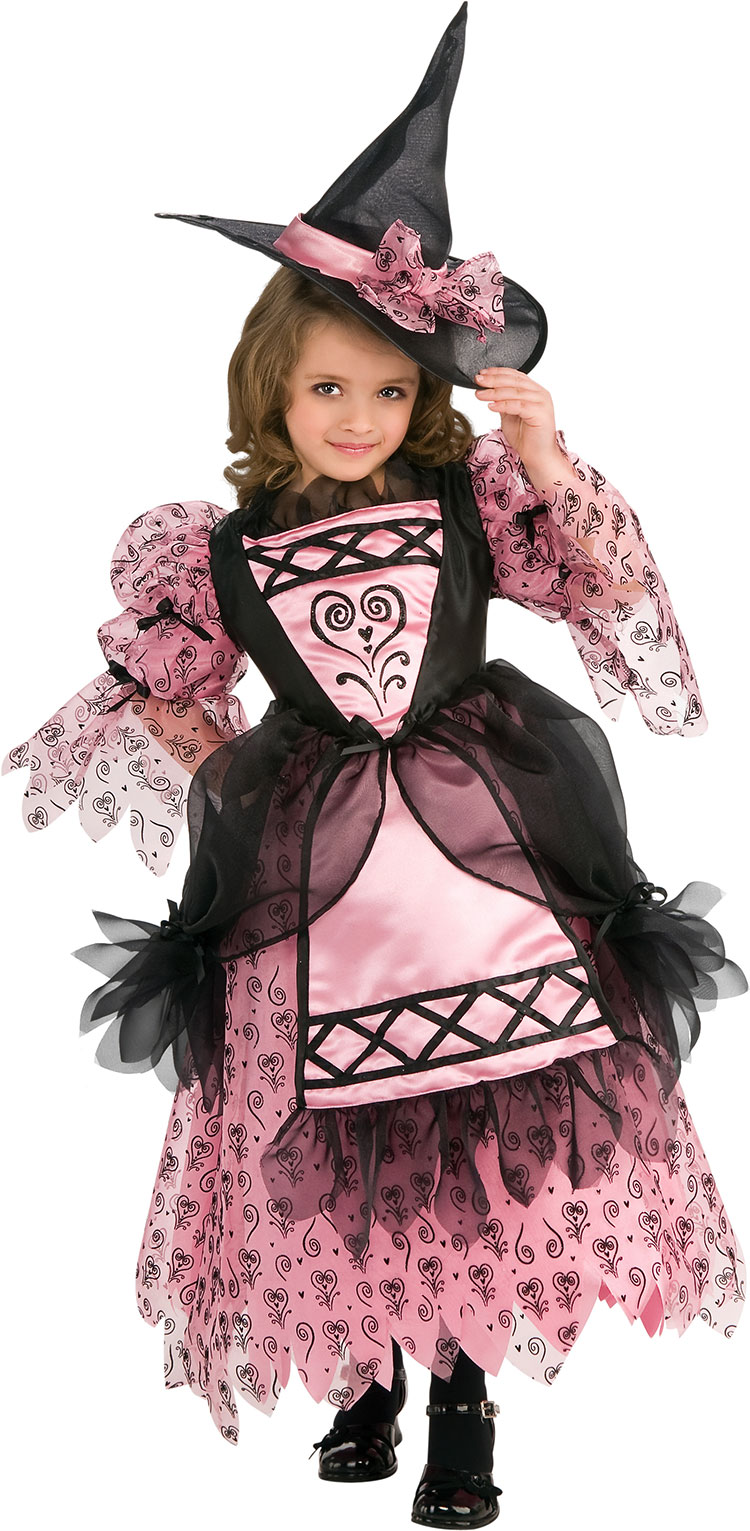 Girls Sweetheart Witch Costume