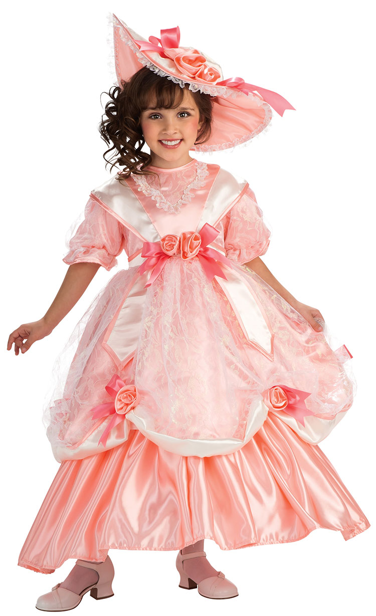 Girls Georgia Peach Costume