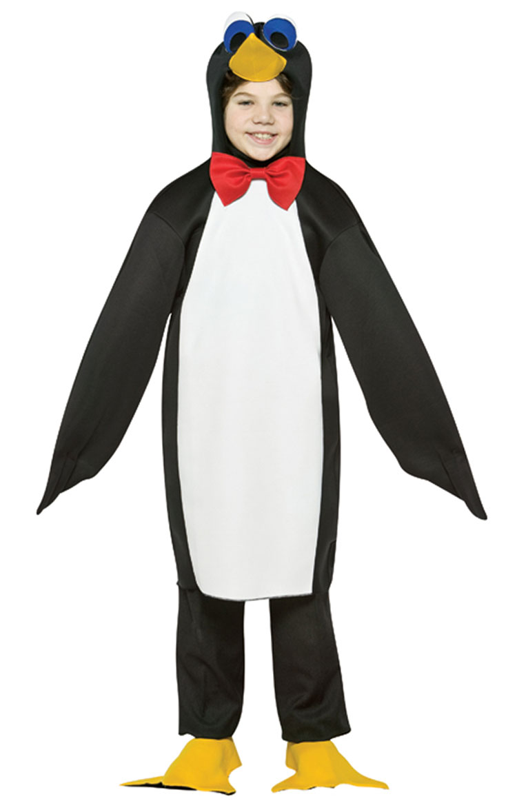Light Weight Penguin Costume For Kids