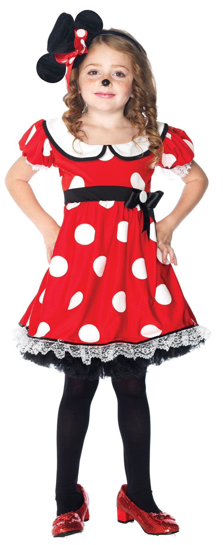 Girls Adorable Miss Mischief Costume