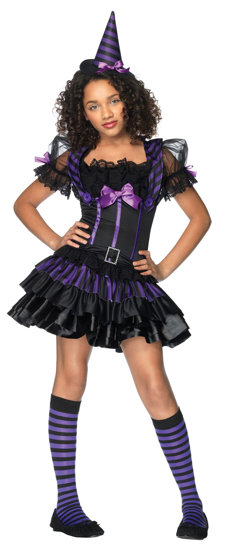 Teen Spell Casting Witch Costume