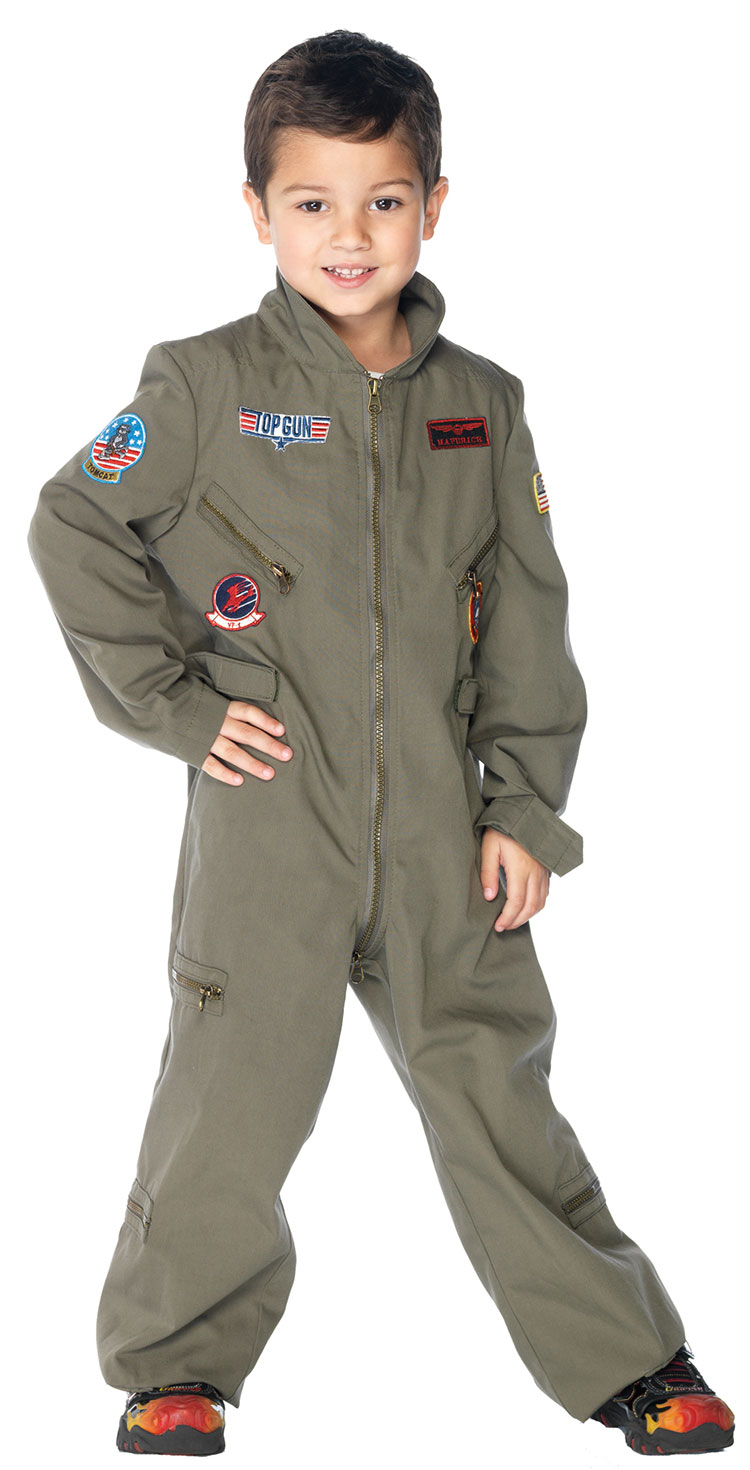 Kids Top Gun Costume