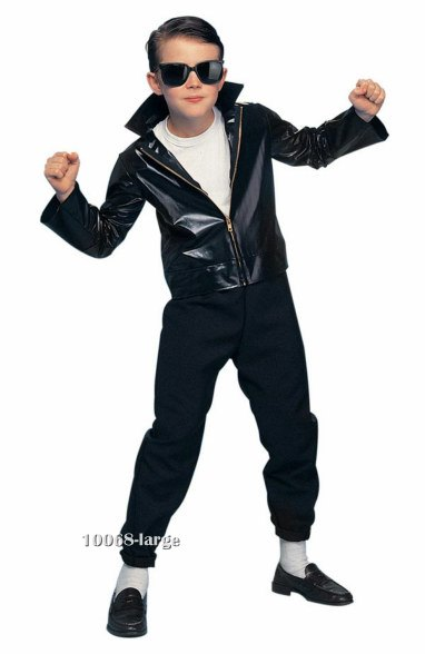 Kids 50's Rock Star Greaser Costume