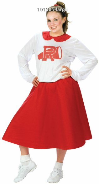 Plus Size Rydell Cheerleader 50s Costume