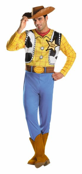 Regular and Plus Size Mens Woody Costume
