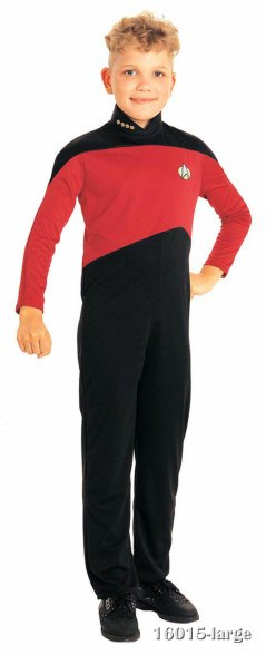 Red Star Trek Jumpsuit Costume