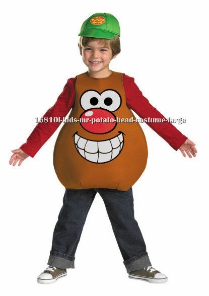 Kids Mr. Potato Head Costume