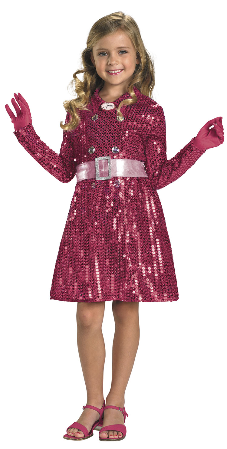 Girls Sharpay's Sequin Jacket Costume