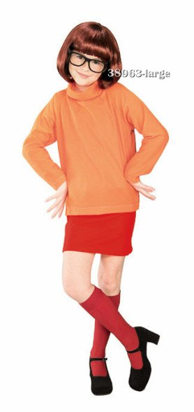 Girls Scooby-Doo Velma Costume