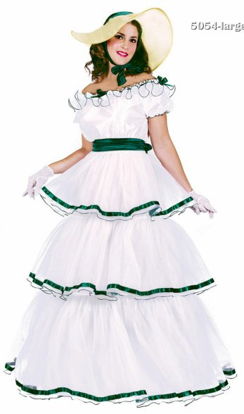 Adult White Southern Belle Costume