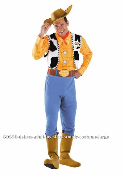 Deluxe Adult Toy Story Woody Costume