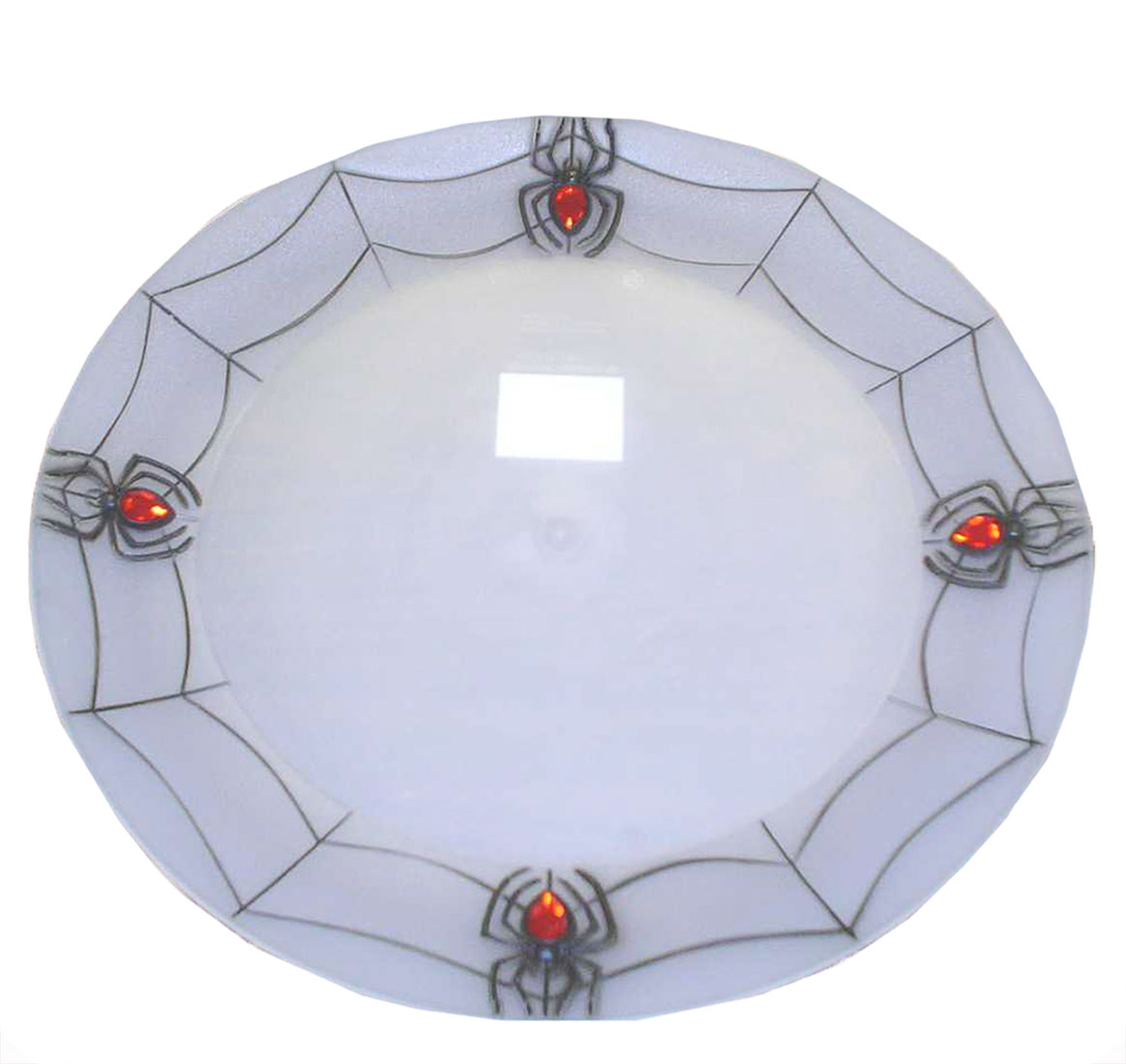 Halloween Spiderweb Tray - Click Image to Close