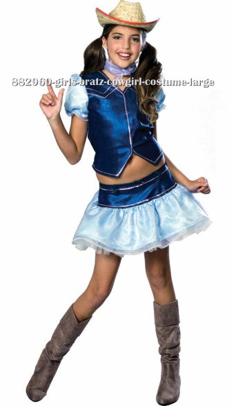 Girls Bratz Cowgirl Costume