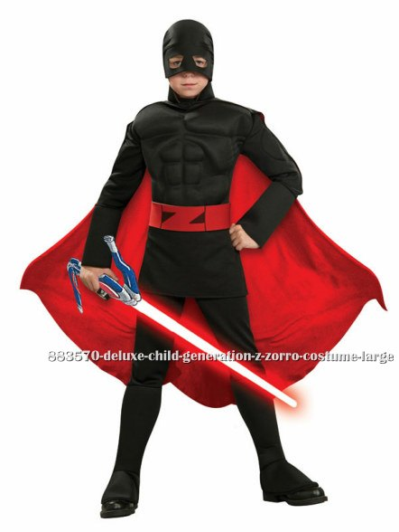 Deluxe Kids Generation Z Zorro Costume