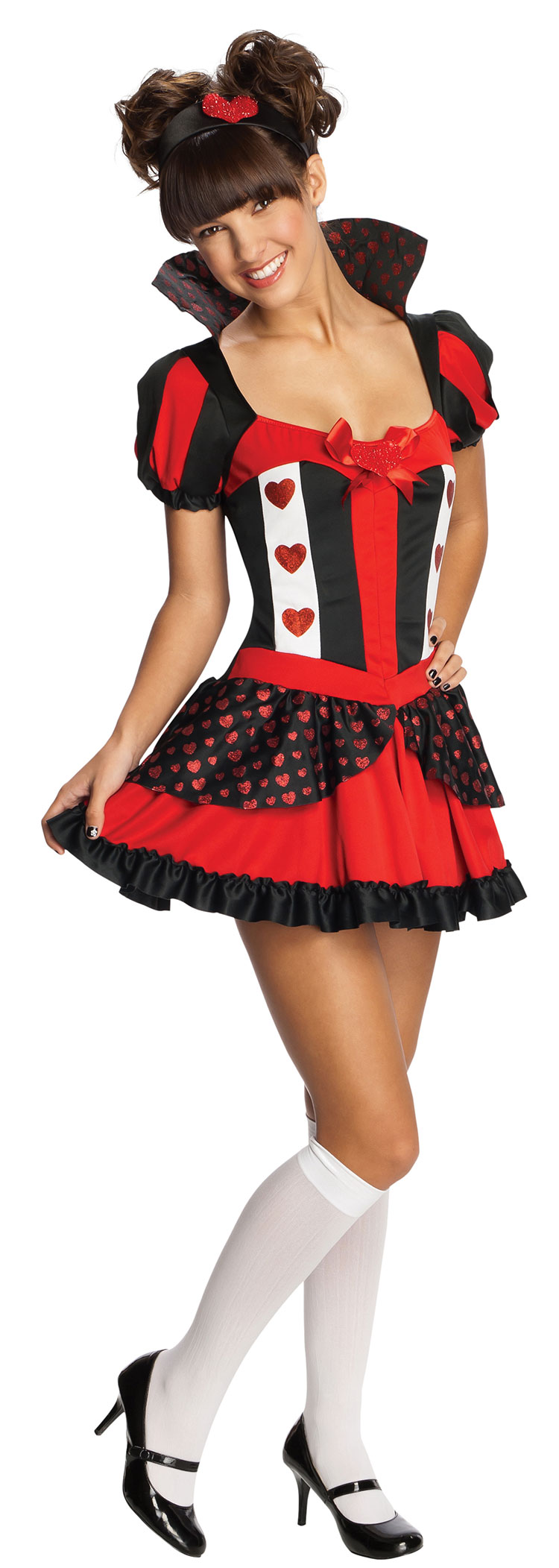Teen Queen Of Hearts Costume - Click Image to Close