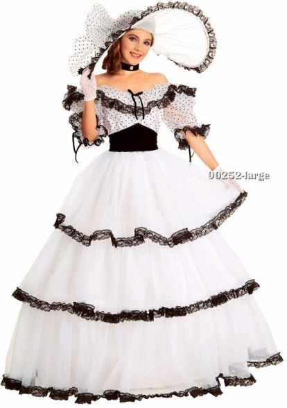 Adult Super Deluxe Southern Belle Costume