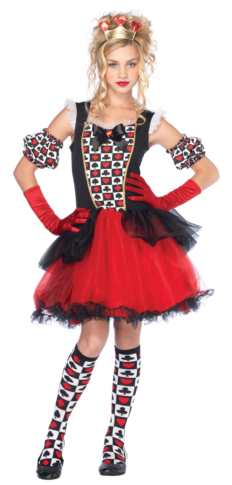 Playing Card Queen Costume - Click Image to Close
