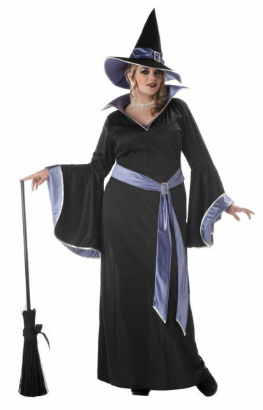 Plus Size Incantasia the Glamor Witch Costume