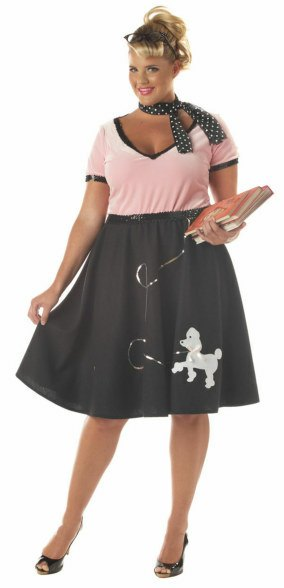 Plus Size 50's Sweetheart Costume