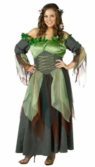 Plus Size Deluxe Mother Nature Costume