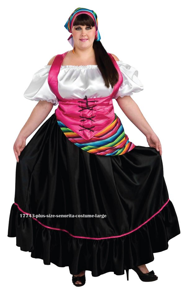 Plus Size Senorita Costume