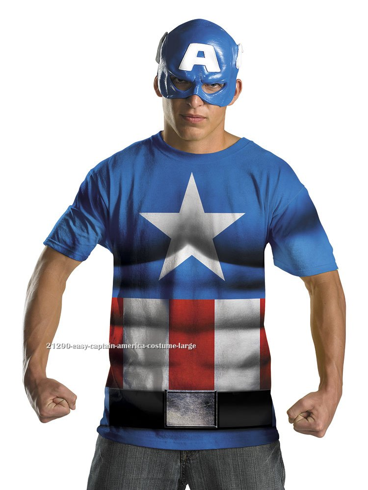 Easy Captain America Costume