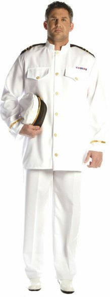 Plus Size Navy Admiral Costume