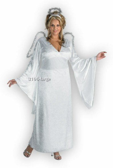 Adult Plus Size Angel Costume