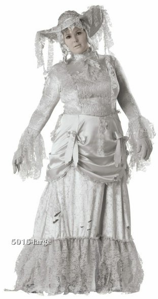 Plus Size Ghostly Lady Costume