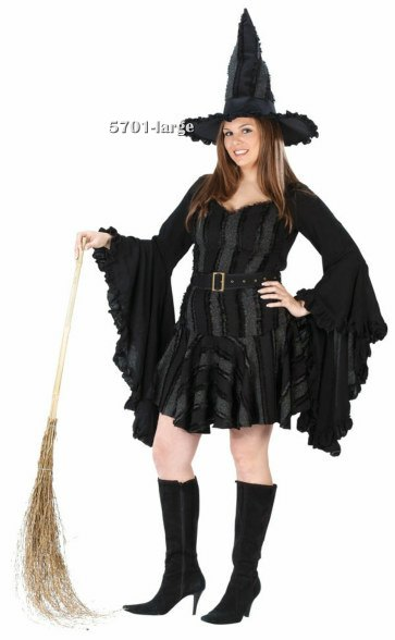 Plus Size Stitch Witch Costume