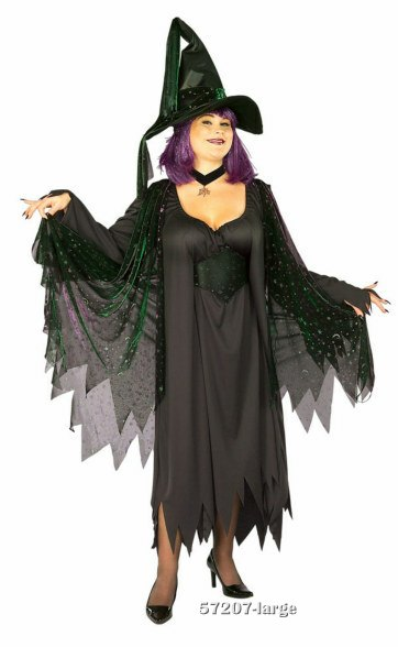 Plus Size Mystic Witch Costume