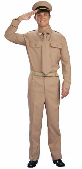 Plus Size World War II General Costume