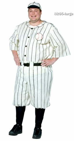 Plus Size Baseball Player Costume