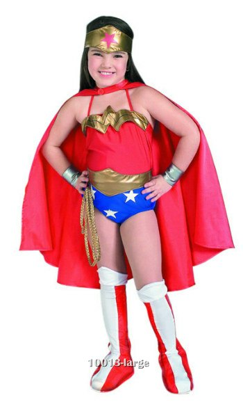Deluxe Girls Wonder Woman Costume