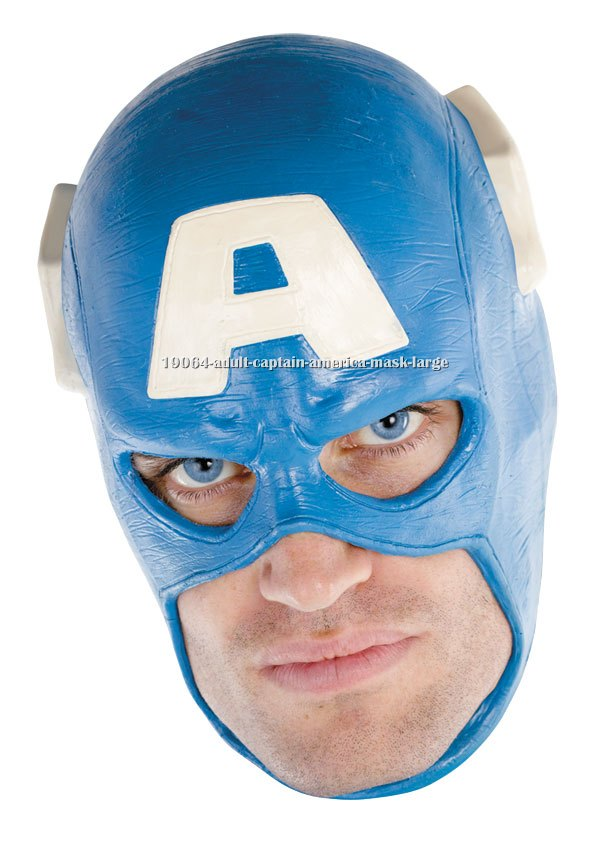 Adult Captain America Mask