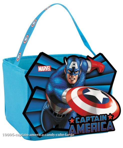 Captain America Candy Cube