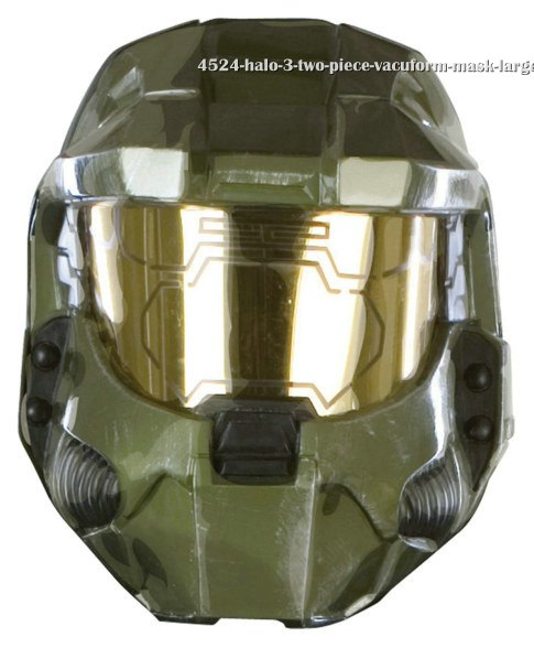 Halo 3 Two Piece Vacuform Mask