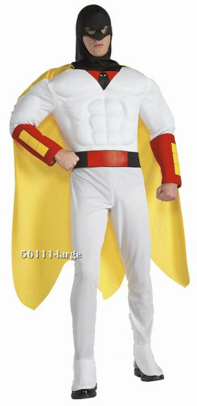 Deluxe Space Ghost Costume