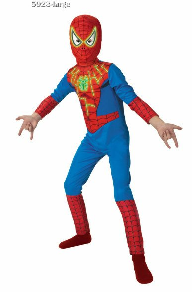 Kids Spider-Man Glow in the Dark Costume
