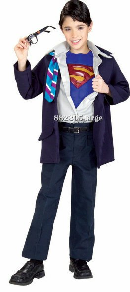 Kids Clark Kent or Superman Costume