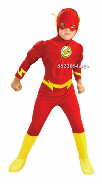 Kids Muscle Chest Flash Costume