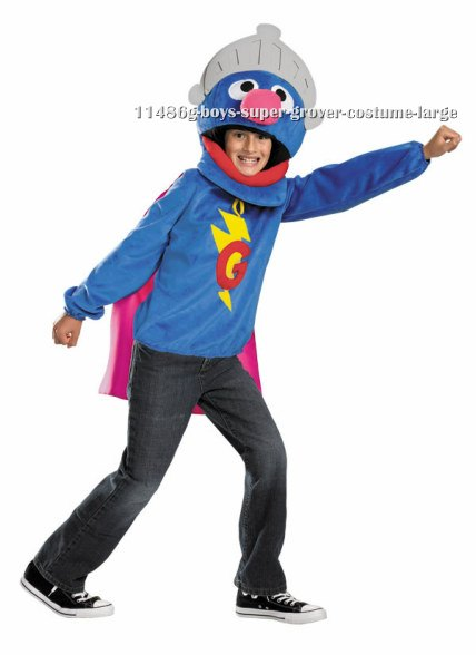 Teen Boys Super Grover Costume