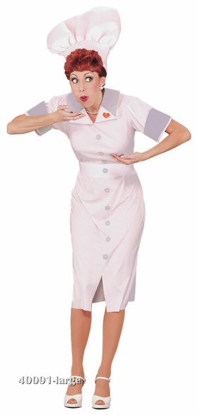 I Love Lucy Candy Factory Costume