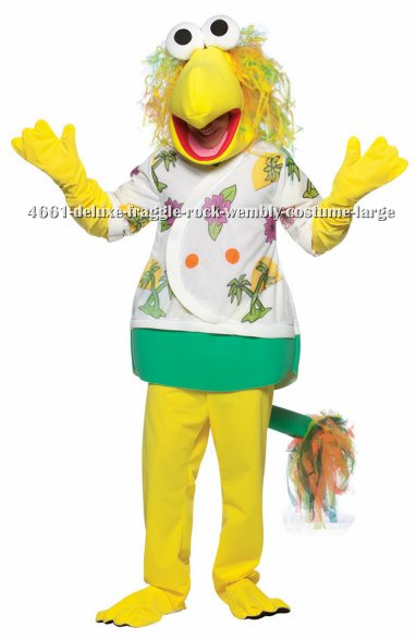 Deluxe Fraggle Rock Wembly Costume