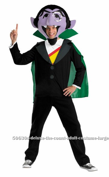 Deluxe The Count Adult Costume