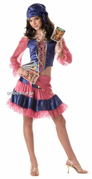 Teen Diva of Destiny Gypsy Costume