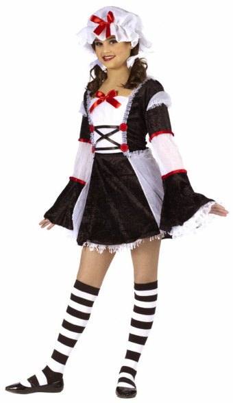 Girls and Teen Rag Darling Costume
