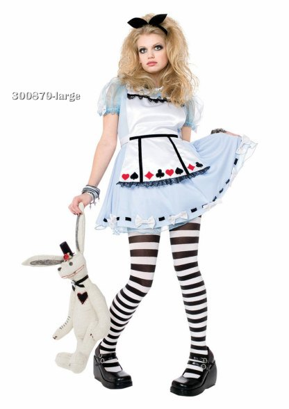 Teen Alice In Wonderland Costume