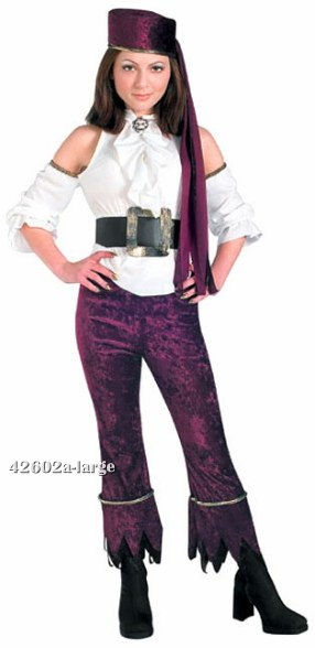 Teen Pirate Girl Costume