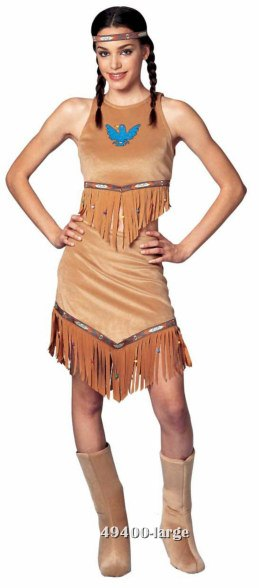 Teen Indian Babe Costume